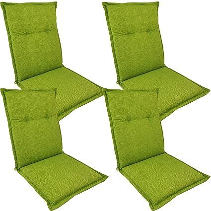 SunDeluxe 4X Cojines para sillas Plegables de Exterior ...