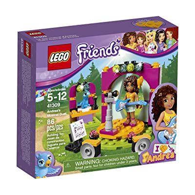 Lego Friends Andrea's Musical Duet 41309 Building Kit: Toys & Games