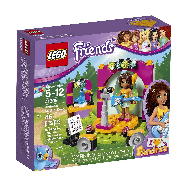 Amazoncom Lego Friends Andreas Musical Duet 41309 Building Kit