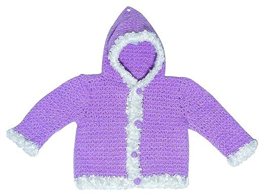 Sr Handicrafts Baby Boys Wool Sweater Sh008 2 3 Years Purple And