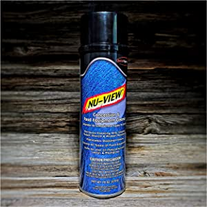 Nu-View Concession & Food Equipment Cleaner 18 oz Can Quest Specialty Removes Cooking Oils, Greases, Sugar, Starch, Protein Residues and Eliminates Oxidation Odors