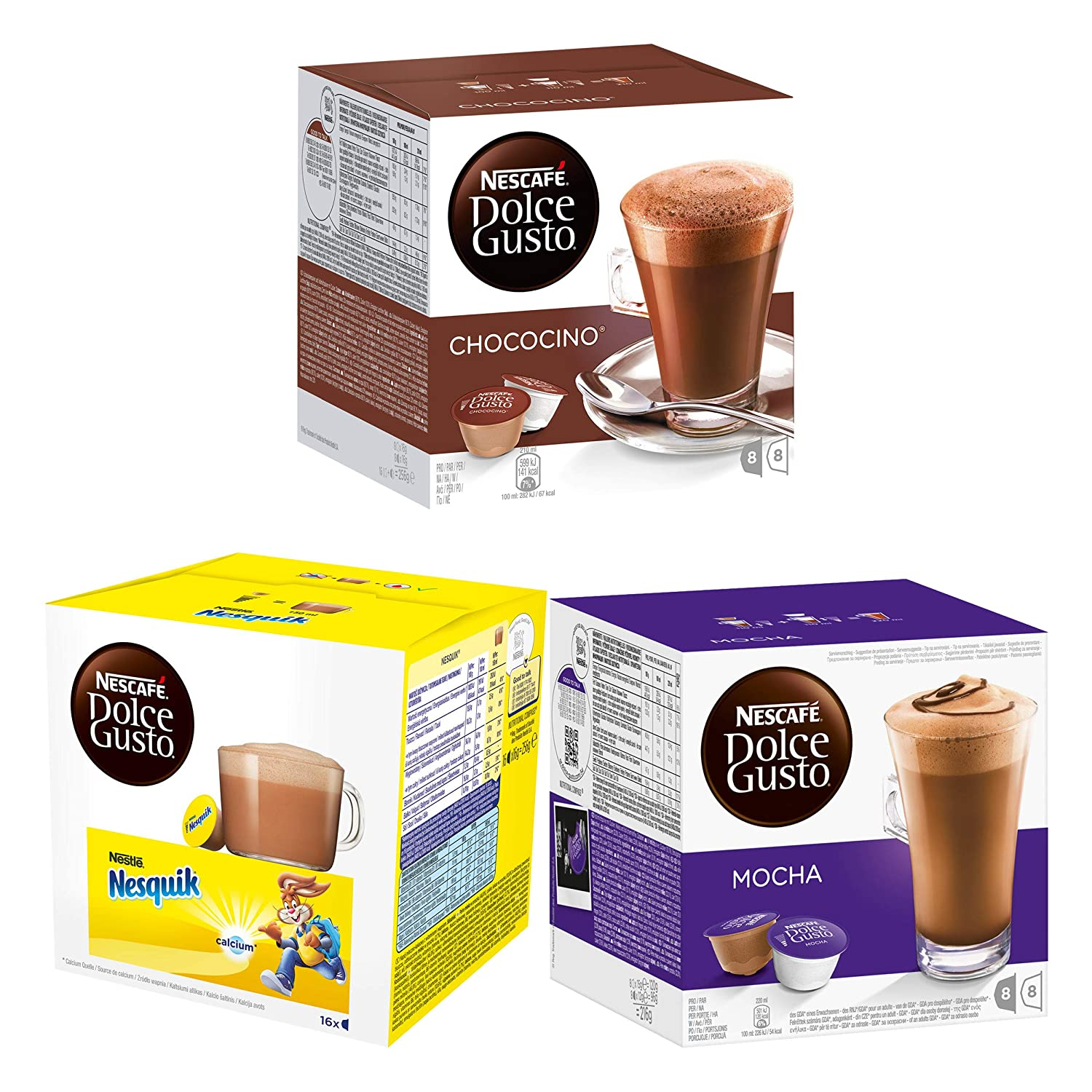 Dolce Gusto the CHOCOLATE collection - Mocha - Nequik ...