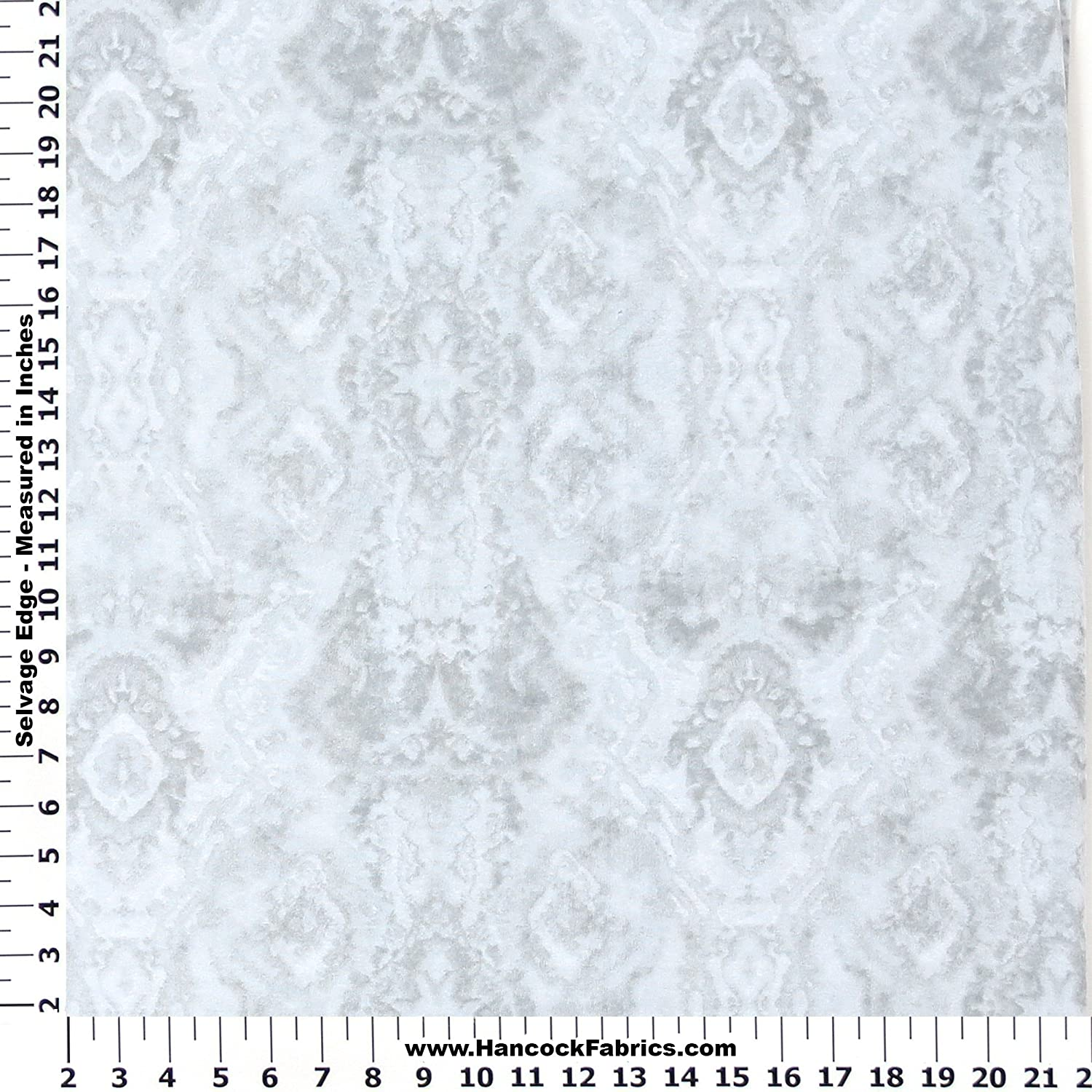Blizzard Blender Grey Flannel Fabric - Sold By the Yard