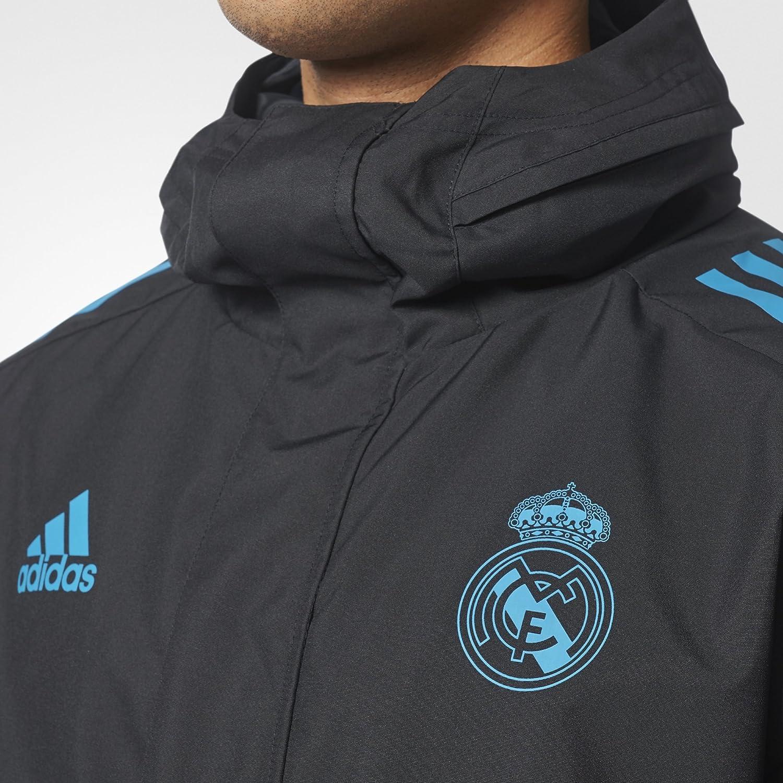 adidas EU Allw Jk Chaqueta Línea Real Madrid FC, Hombre: Amazon.es ...