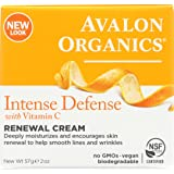 Avalon Organics Vitamin C Renewal Cream, 2 Ounce (Pack of 2)