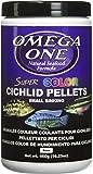 Omega One Super Color Cichlid Pellets Small Sinking