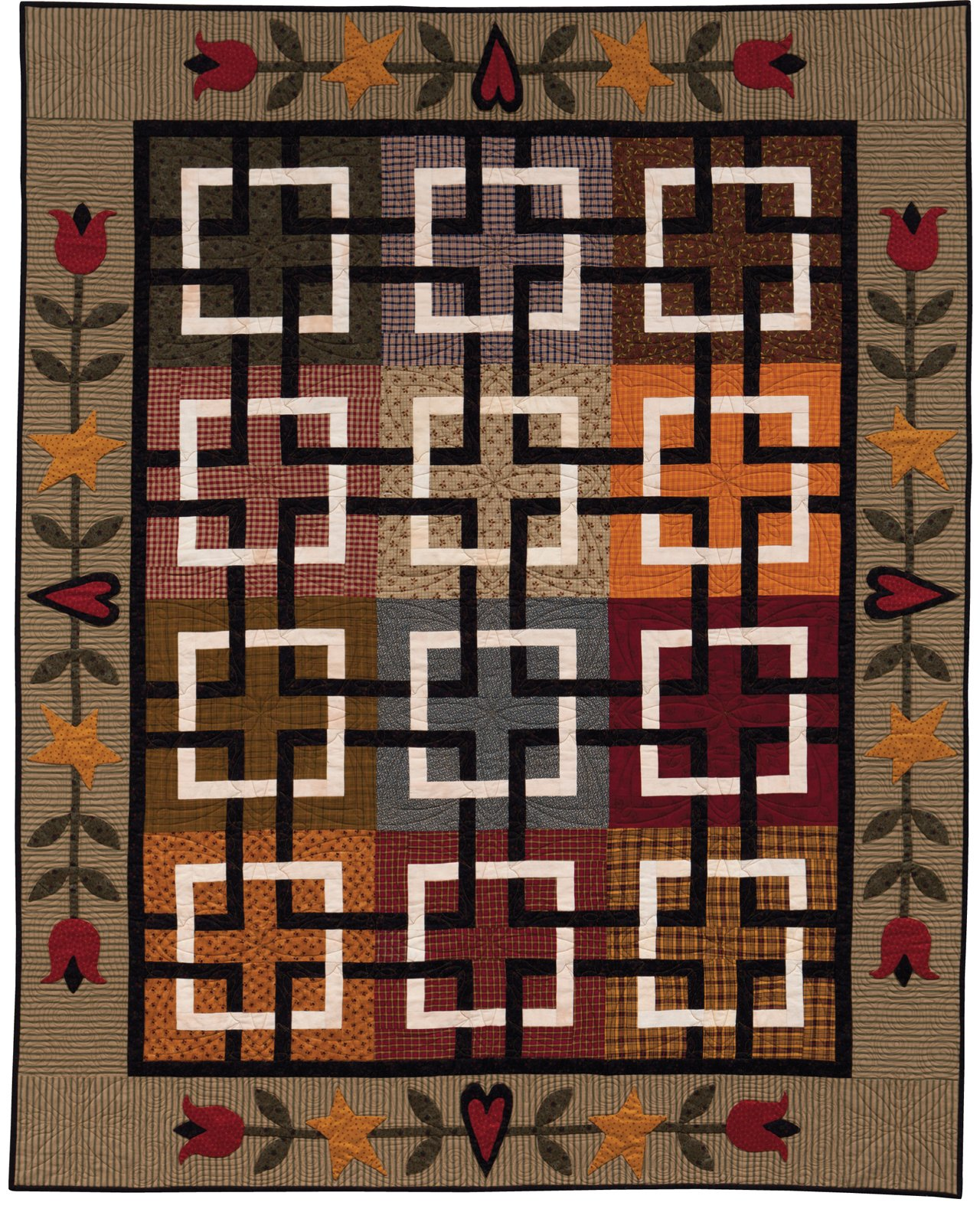 At Home with Country Quilts: 13 Patchwork Patterns: Cheryl Wall ... : country home quilts - Adamdwight.com