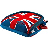 Bubble Bum Backless Inflatable Booster Car Seat, Union Jack