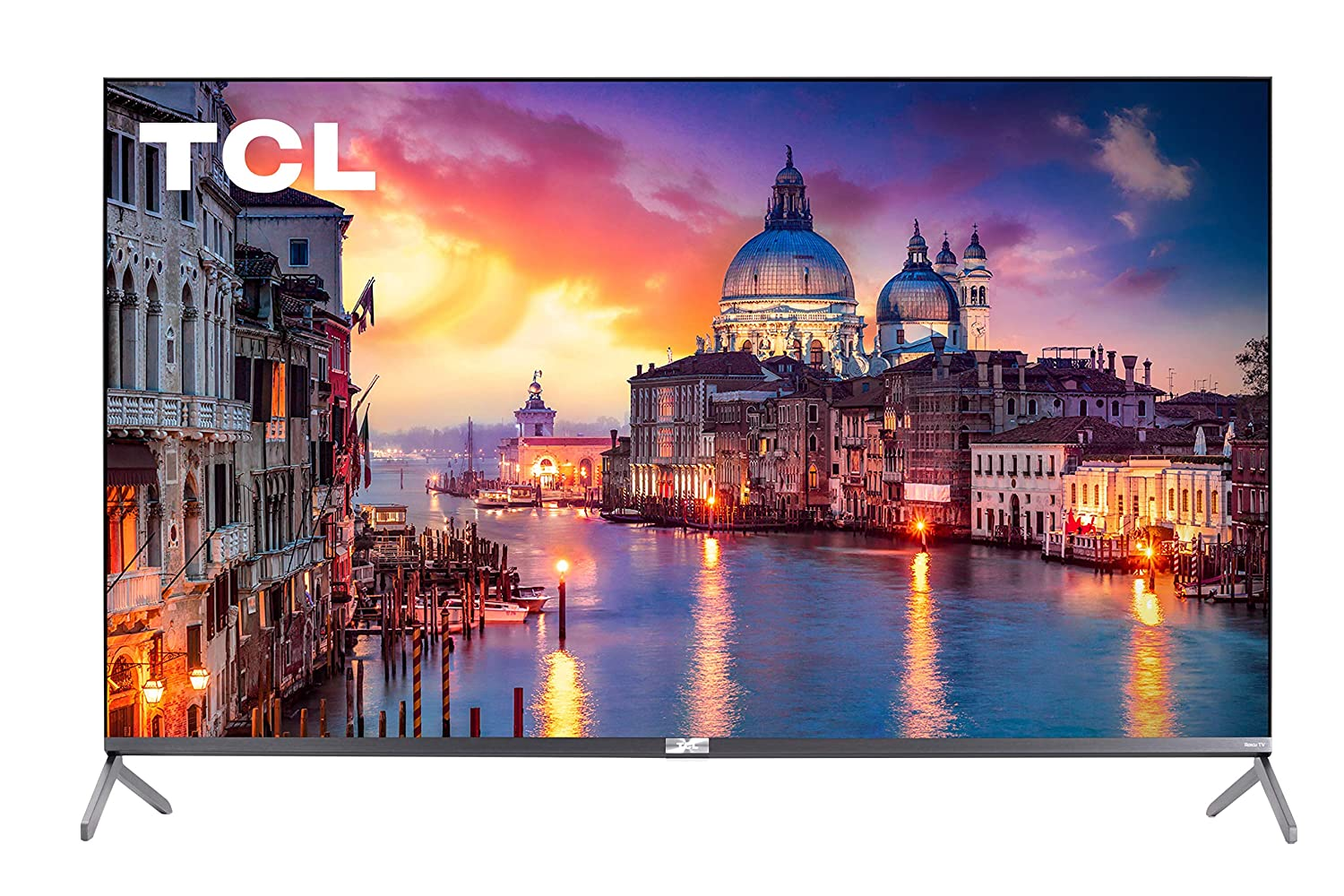 TCL 55-inch Class 6-Series 4K UHD QLED Dolby Vision HDR Roku Smart TV