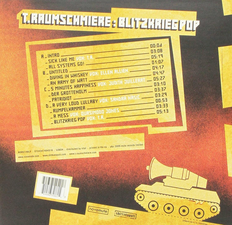 T Raumschmiere Blitzkrieg Pop Vinyl Amazon Music