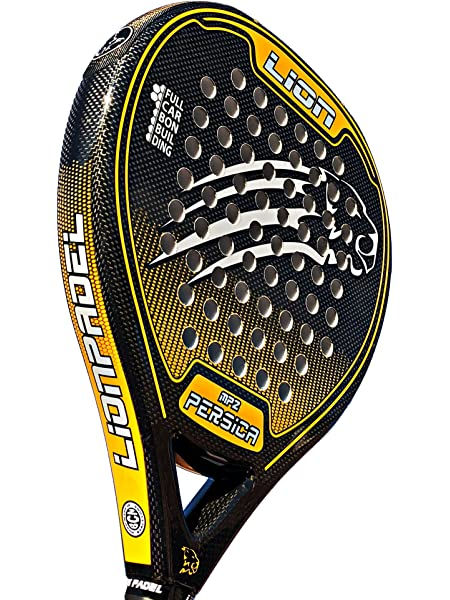 Pala Padel Lion PERSICA Power MP1 Yellow: Amazon.es: Deportes y ...