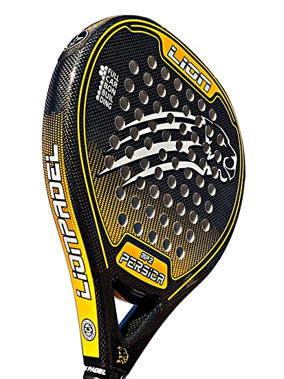 PALA PADEL LION PERSICA MP2 CONTROL ORANGE