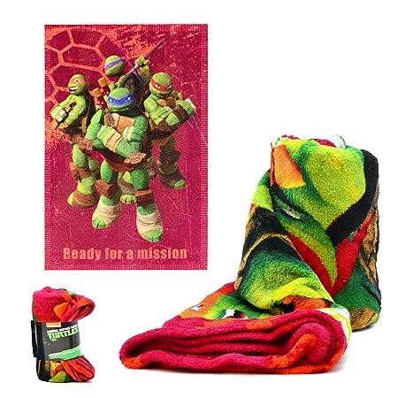 Tortugas Ninja Manta CORALINA 95X150 Rosa, 150x90: Amazon.es ...