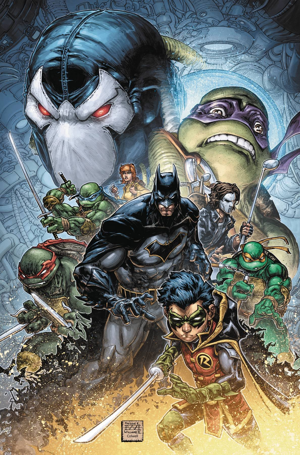 BATMAN TEENAGE MUTANT NINJA TURTLES II #1 (OF 6): Freddie E ...