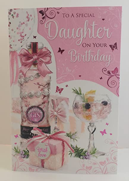 Remarkable Cherry Orchard To A Special Daughter On Your Birthday Card Gin Funny Birthday Cards Online Inifodamsfinfo