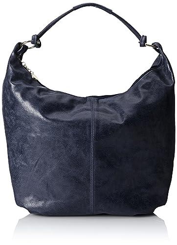 Chicca borse Sac à Main femme, (Blu), 45 cm