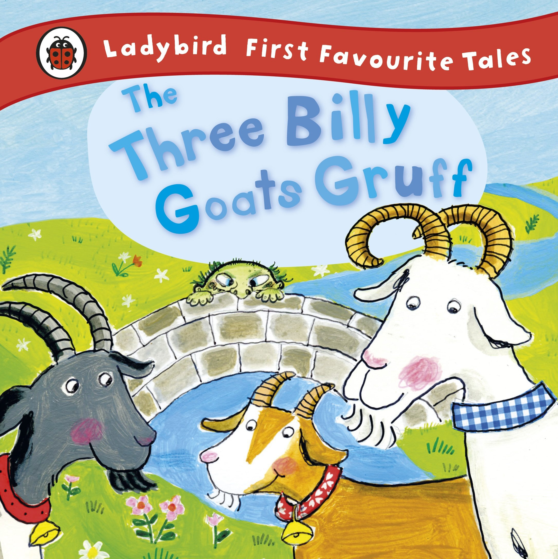 The Three Billy Goats Gruff: Ladybird First Favourite Tales: Amazon ...