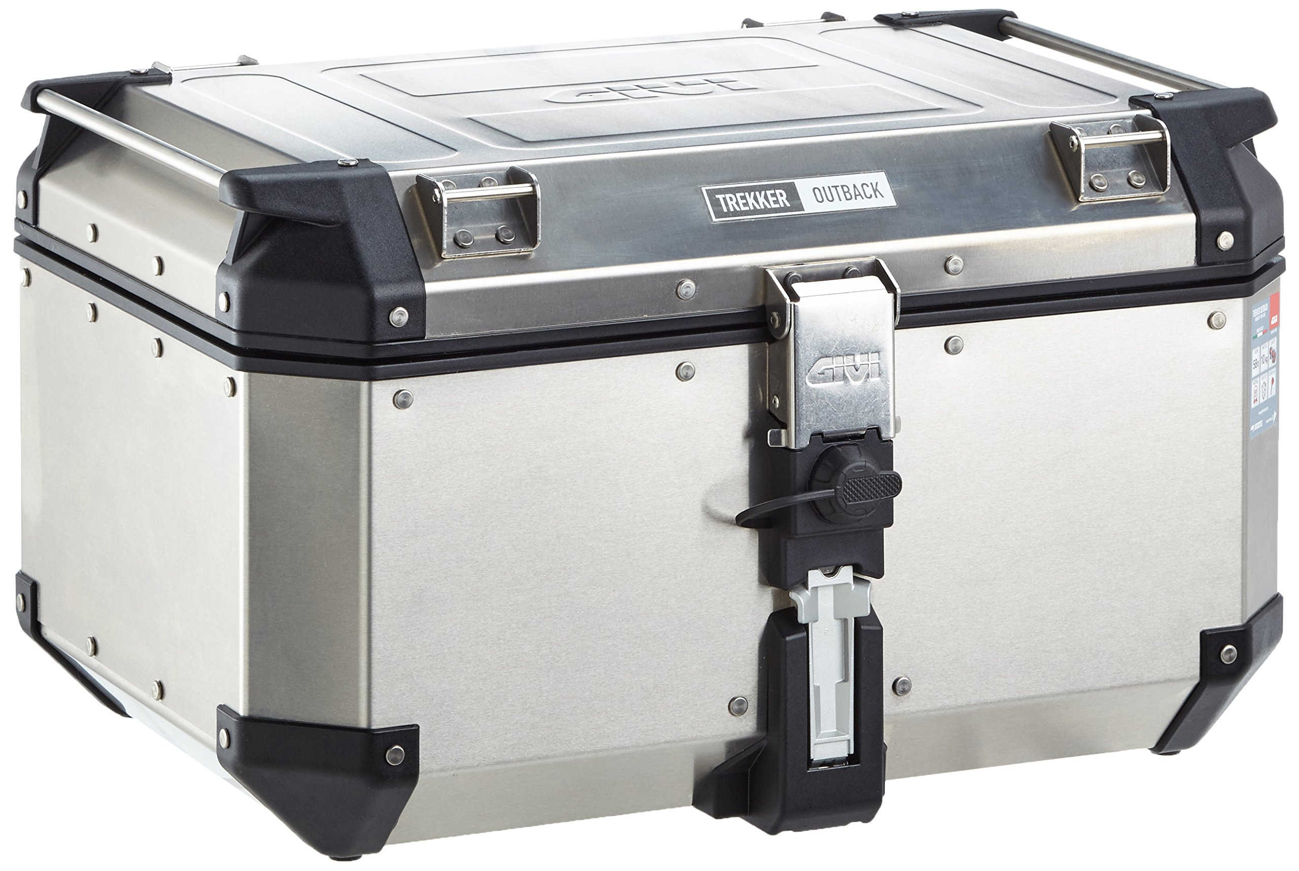 Givi OBK58A Outback Silver Top Case 58 Liter