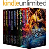 Draekon Desire: A Sci-Fi Dragon Shifter Menage Romance Boxed Set: Exiled to the Prison Planet: The Complete 7 Novel Collectio