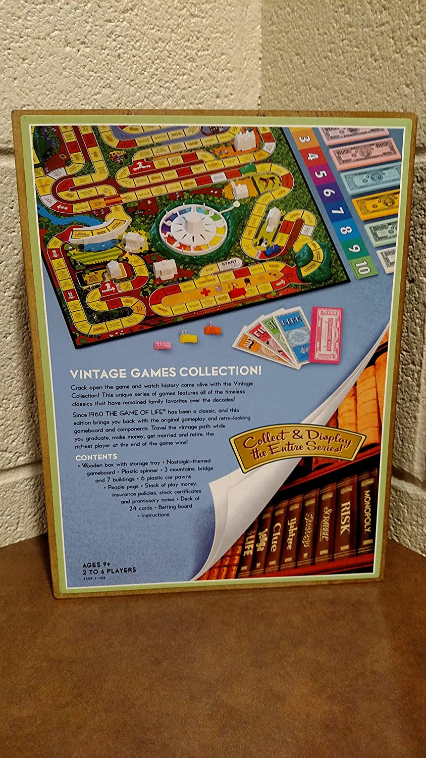 Library Life Vintage Book Game by Hasbro: Amazon.es: Juguetes y juegos