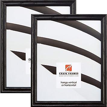 Amazoncom Craig Frames 200ashbk 16 X 24 Inch Picture Frame Black