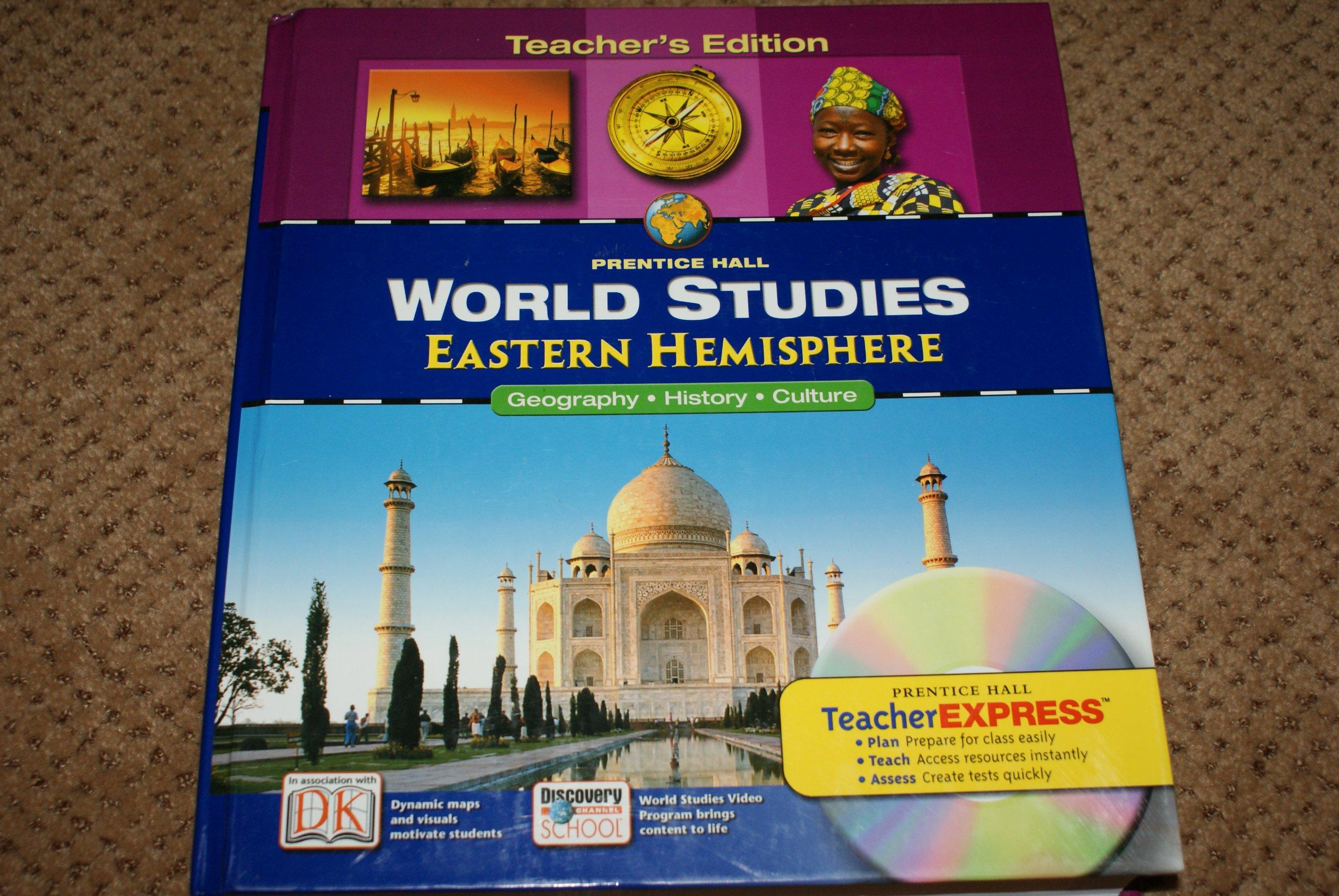 World Studies, Eastern Hemisphere: Geography, History, Culture, Teacher's  Edition: Prentice Hall: 9780131280816: Amazon.com: Books
