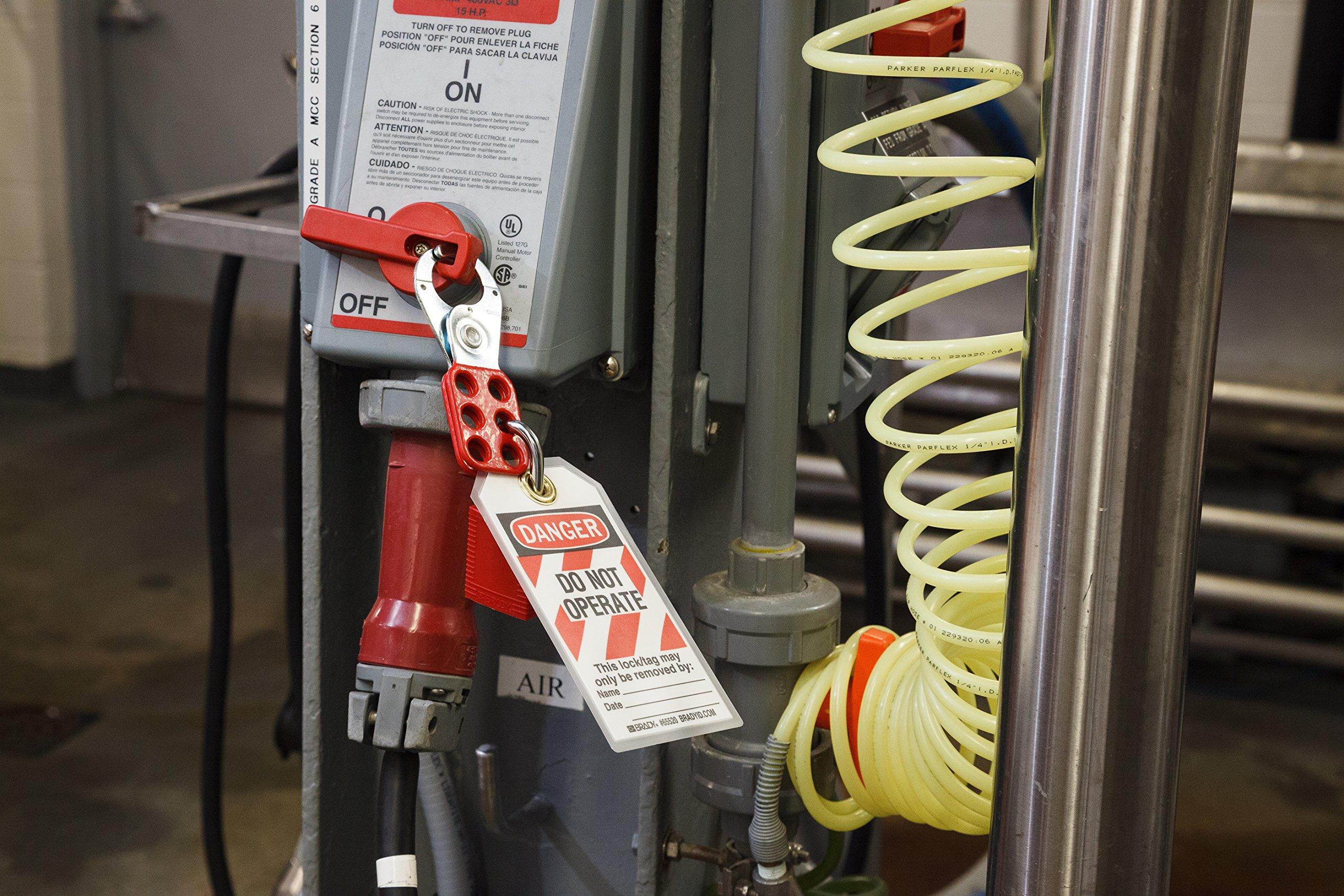 Brady 95548 Portable Lockout Kit, Fill, Electrical, Pouch by Brady (Image #6)