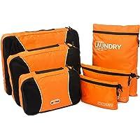 Packing Cube 6 Set Waterproof Travel Storage Bag Compression Luggage