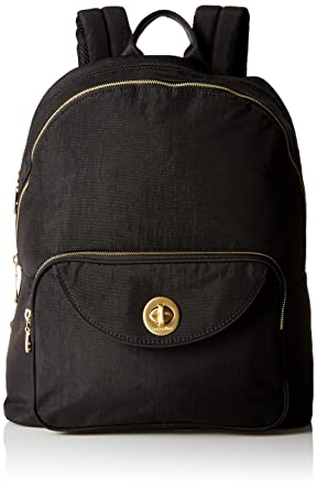 31a53b940c75 Amazon.com  Baggallini Brussels Laptop Blk Backpack