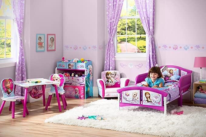 Delta children tt89498fz la reine des neiges table et chaise