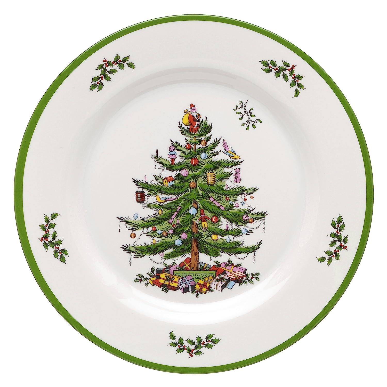 Amazon.com   Spode Christmas Tree Melamine Dinner Plate, Set of 4 ...
