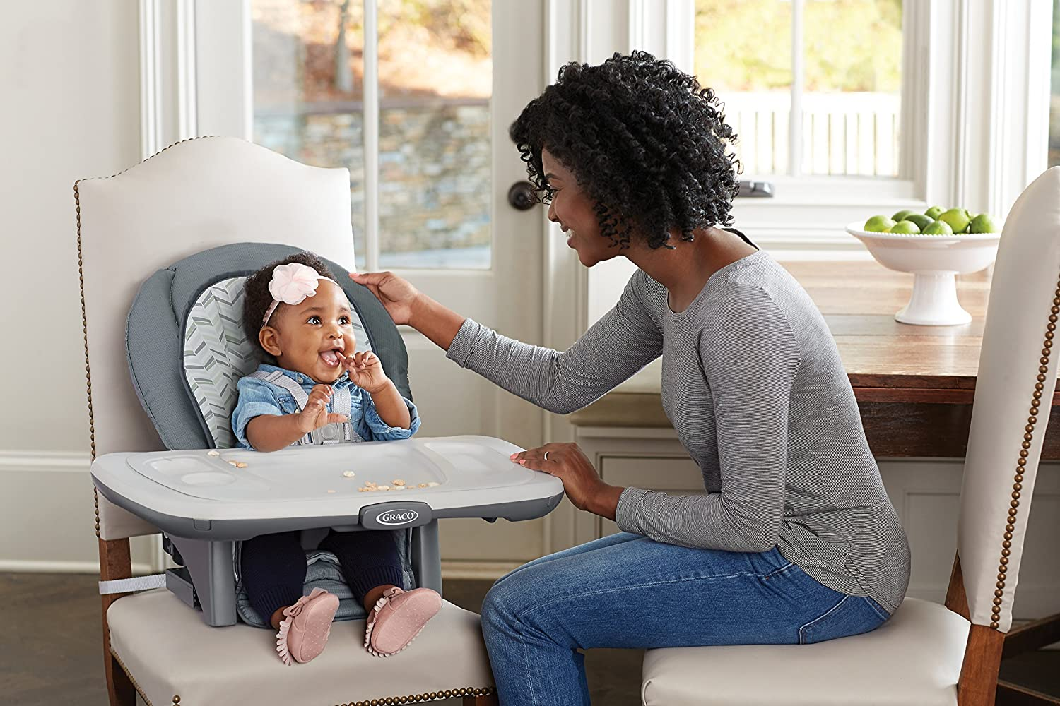 Landry Graco Table2Table Premier Fold 7-in-1 Convertible High Chair One Size