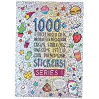 Fashion Angels 1000+ Ridiculously Cute Stickers for Kids - Fun Craft Stickers for Scrapbooks, Planners, Gifts and Rewards, 40-Page Sticker Book for Kids Ages 6+ and Up