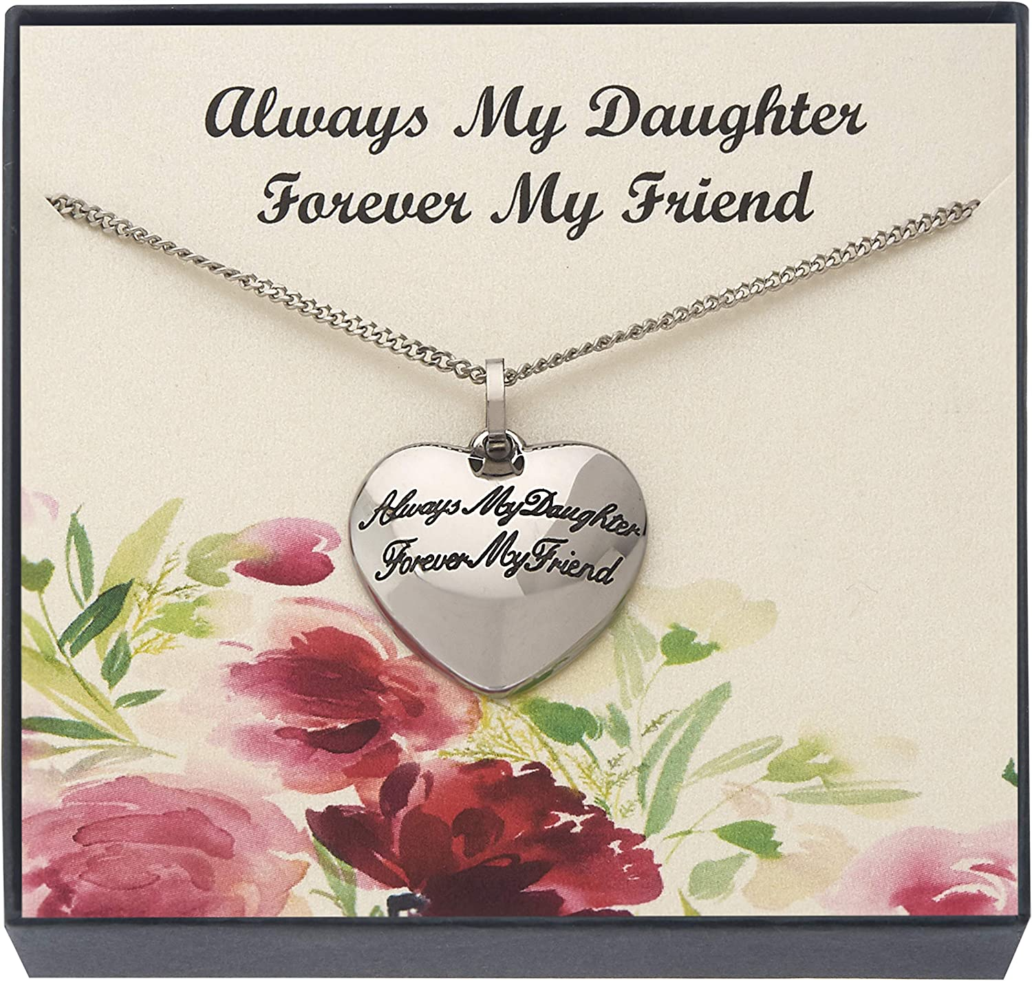 Mom To Daughter Necklace Jewelry Gift Love Mom To Daughter Forever Infinity Friendship Necklace For Xmas Birthday Wedding Christmas  Gifts