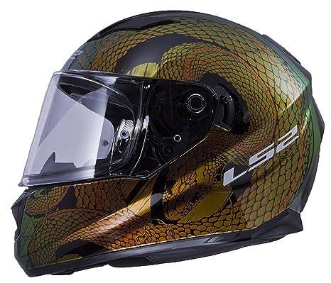 Amazon.com: LS2 Stream - Casco de moto con protección solar ...