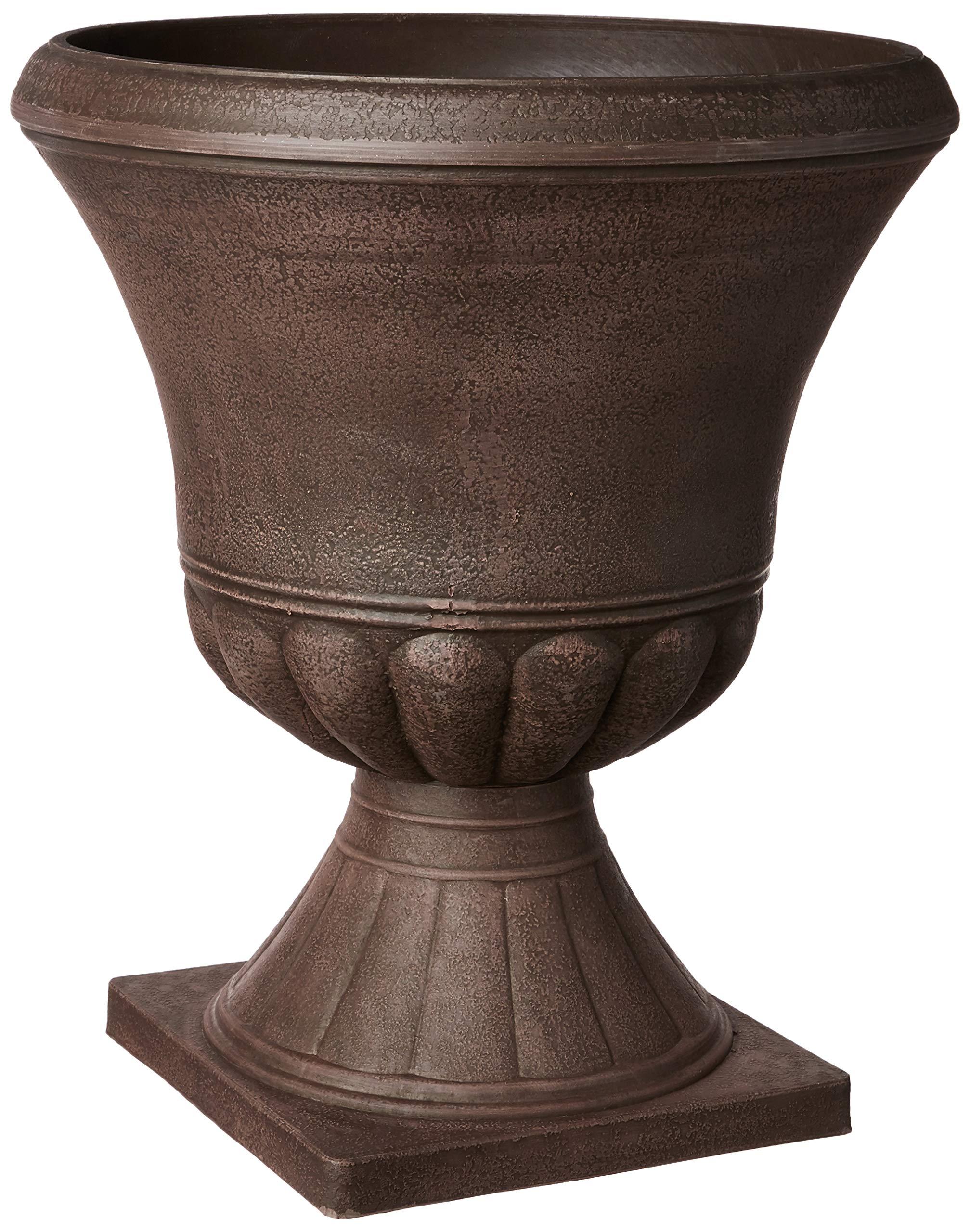 Arcadia Garden Products PSW DB51C Hamilton Urn, 18 by 22'', Chocolate by Arcadia Garden Products (Image #1)