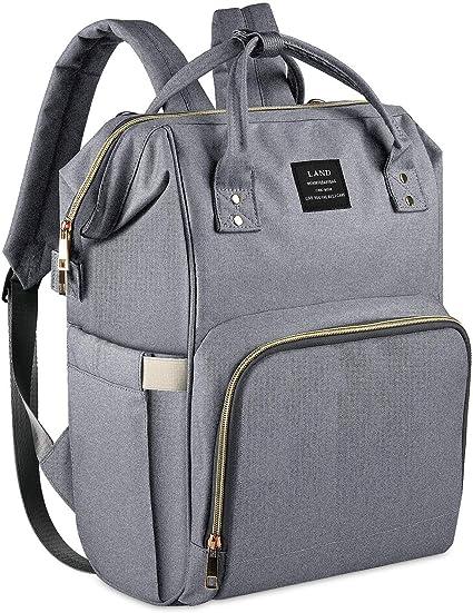 Waterproof Multi-Function Large Capacity Diaper PRITEK Nappy Changing Backpack