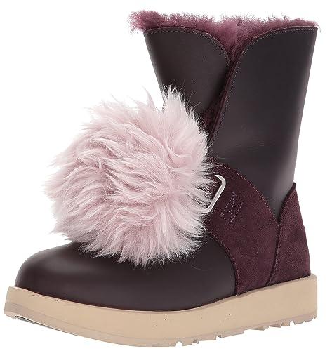 34001e44a11 UGG Women's Isley Waterproof Winter Boot, Port, 7 M US: Amazon.co.uk ...