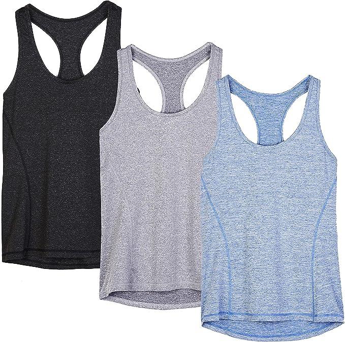 Amazon.com: Traje activo icyzone, para correr, ropa de ...