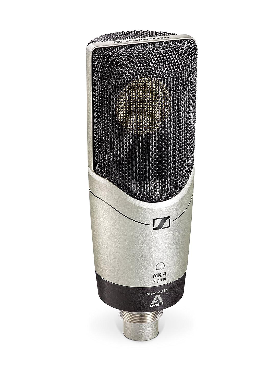 Sennheiser MK 4 - Micrófono Digital, Color Negro: Sennheiser: Amazon.es: Electrónica
