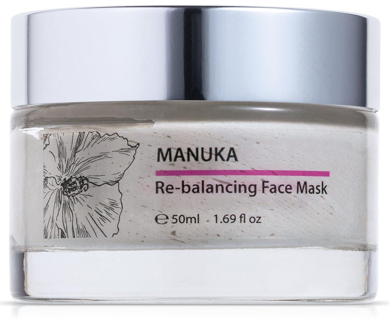 Green Keratin Manuka Re-Balancing Face Mask with Kaolin and Bentonite Clays, 50 ml Green Keratin Ltd