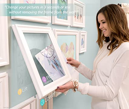 Amazon.com: QIK FRAME: Quick Change Gallery Wall Picture Frame ...