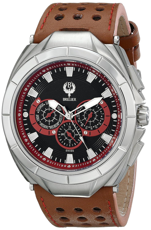 Brillier Herren 17-03 Solide Swiss Quartz Armbanduhr