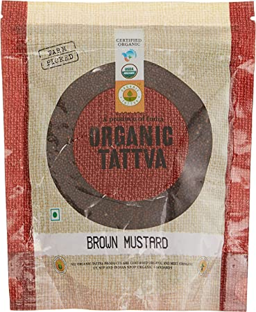 Organic Tattva Brown Mustard, 200g