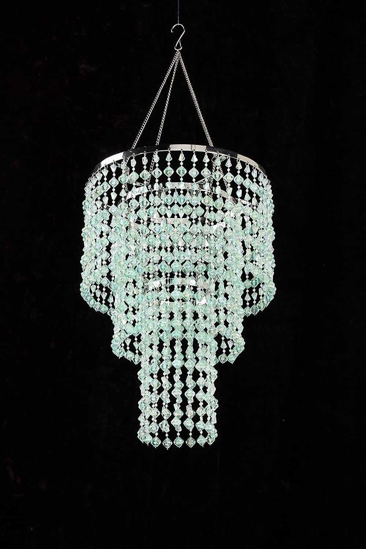 Amazon zappobz hll14 gemstone chandelier mint green home amazon zappobz hll14 gemstone chandelier mint green home kitchen arubaitofo Choice Image