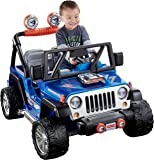 Power Wheels Hot Wheels, Jeep Wrangler, 12 Volt