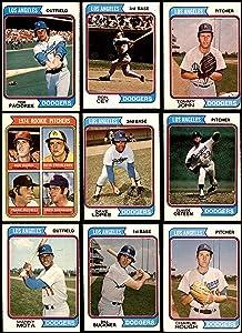 1974 O-Pee-Chee Los Angeles Dodgers Near Team Set Los Angeles Dodgers (Set) VG+ Dodgers