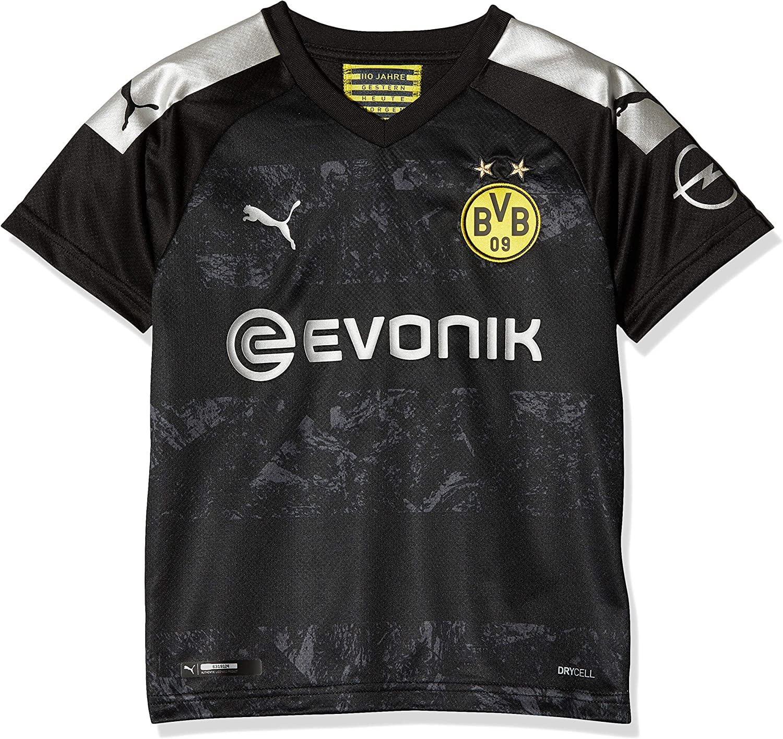 Amazon Com Puma 2019 2020 Borussia Dortmund Away Football Soccer T Shirt Jersey Kids Clothing