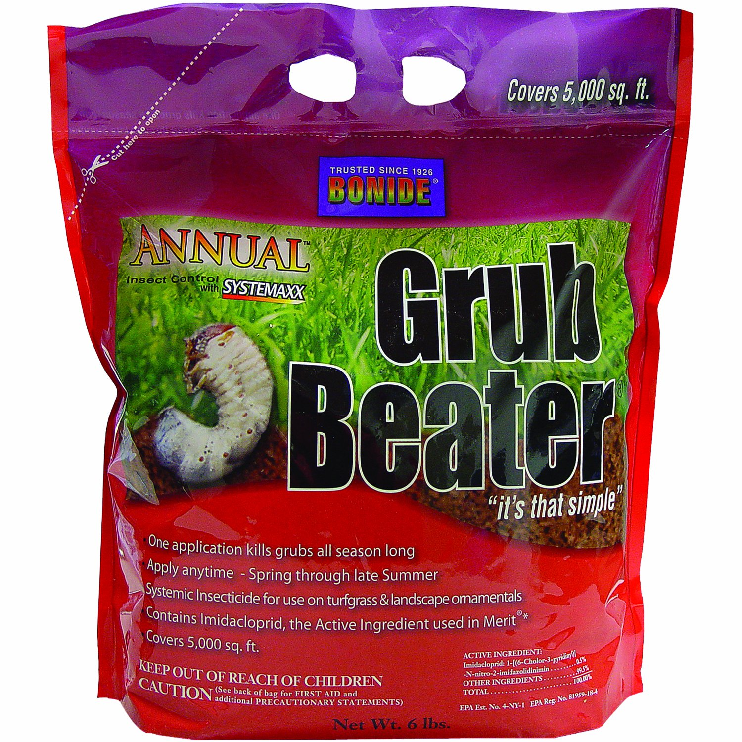 ANNUAL GRUB BEATER 5K BAG [Misc.] [Misc.] [Garden & Outdoors] Bonide 603
