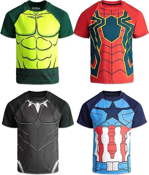 Infinity War Spiderman Tee Short sleeve sport Fitness Male T-shirt NEW Avengers